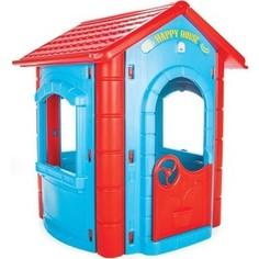 Игровой домик Pilsan Happy House сине-красный (06-098)