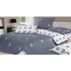Комплект постельного белья Ecotex 1,5 сп, сатин, Коломбо (КГ1Коломбо)