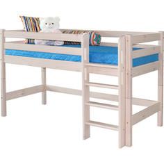Детская кровать Мебельград Соня с прямой лестницей, вариант 11