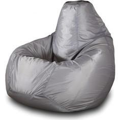 Кресло-мешок Груша Пазитифчик БМО5 серый
