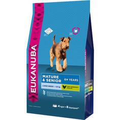 Сухой корм Eukanuba Mature & Senior Dog 6+ Years Large Breed with Chicken с курицей для пожилых собак крупных пород 4кг