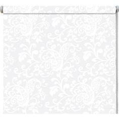Рулонные шторы DDA Ажур (принт) Белый 37x170 см