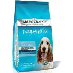 Сухой корм ARDEN GRANGE Puppy/Junior Hypoallergenic Rich in Fresh Chicken гипоалергенный с курицей для щенков и молодых собак 12кг (AG601344)