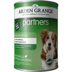 Консервы ARDEN GRANGE Adult Dog Partners Hypoallergenic Fresh Lamb with Rice гипоалергенный со свежим ягненком и рисом для собак 395г (AG820011)