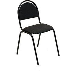Стул Союз мебель СМ 8 каркас черный ткань серая 2 шт