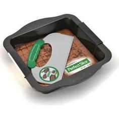 Противень прямоугольный BergHOFF с инструментом для нарезания 30x27x5 см Perfect Slice (1100053)