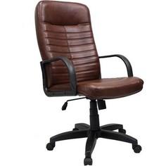 Кресло Союз мебель Орман ТГ пластик экокожа коньяк