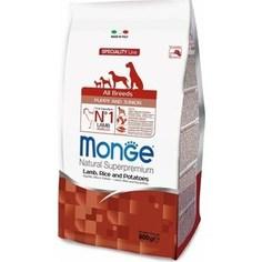 Сухой корм Monge Speciality Line Puppy and Junior All Breed Lamb, Rice and Potatoes с ягненком, рисом и картофелем для щенков всех пород 800г