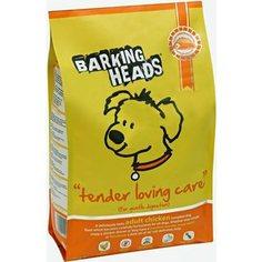 Сухой корм BARKING HEADS Adult Dog Tender Lovind Care for Gentle Digestion with Chicken с курицей и рисом нежная забота для собак 18кг (1190/18109)