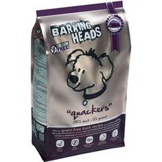 Сухой корм BARKING HEADS Adult Dog Quackers Grain-Free Duck Recipe беззерновой с уткой и бататом для собак 2кг (0780/18152)