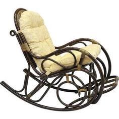 Кресло-качалка с подножкой EcoDesign 05/11 Б