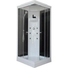 Душевая кабина Royal Bath 90х90х217 стекло черное/прозрачное (RB90HP3-BT)