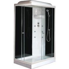 Душевая кабина Royal Bath 120х80х217 стекло правая черное/прозрачное (RB8120HP3-BT-R)
