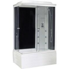 Душевая кабина Royal Bath 100х80х217 стекло правая черное/прозрачное (RB8100BP3-BT-R)