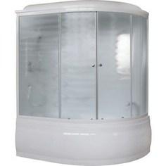 Душевая кабина Royal Bath 150х100х225 стекло шиншилла левая (RB150ALP-C-L)