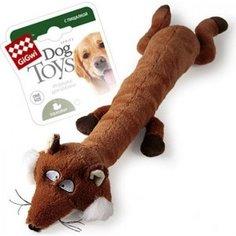 Игрушка GiGwi Dog Toys Squeaker лиса с большой пищалкой для собак (75231)