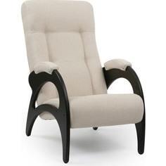 Кресло для отдыха Мебель Импэкс Комфорт Модель 41 б/л венге, обивка Malta 01