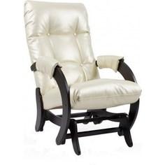Кресло-качалка глайдер Мебель Импэкс Комфорт Модель 68 венге, Oregon perlamytr 106