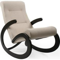 Кресло-качалка Мебель Импэкс Комфорт Модель 1 венге, обивка Malta 01 А