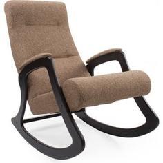 Кресло-качалка Мебель Импэкс Комфорт Модель 2 венге, обивка Malta 17
