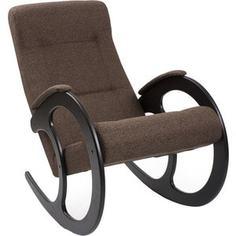 Кресло-качалка Мебель Импэкс Комфорт Модель 3 венге, обивка Malta 15 А