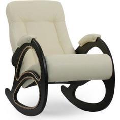 Кресло-качалка Мебель Импэкс Комфорт Модель 4 венге, обивка Dundi 112