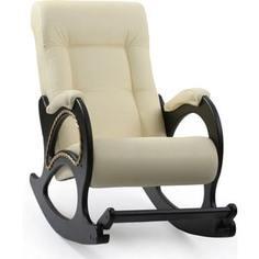 Кресло-качалка Мебель Импэкс Комфорт Модель 44 венге, обивка Dundi 112