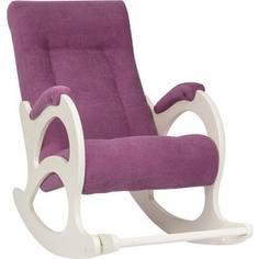Кресло-качалка Мебель Импэкс Комфорт Модель 44 б/л дуб шампань, обивка Verona cyklam