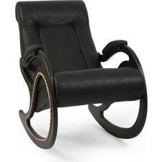 Кресло-качалка Мебель Импэкс Комфорт Модель 7 венге, обивка Dundi 109