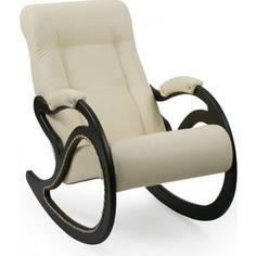 Кресло-качалка Мебель Импэкс Комфорт Модель 7 венге, обивка Dundi 112