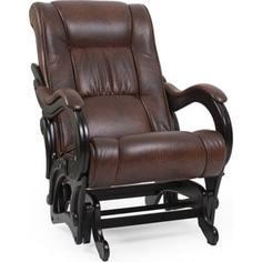 Кресло-качалка Мебель Импэкс Комфорт Модель 78 венге, обивка Antik crocodile