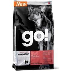 Сухой корм GO! Dog LIMITED INGREDIENT DIET Grain+Gluten Free Salmon Recipe беззерновой, без глютена с лососем для взрослых собак 2,72кг (10354)