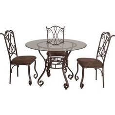 Обеденная группа стол плюс 4 стула Мебельторг 2819/2719