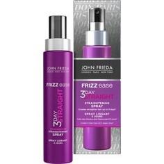 John Frieda Frizz Ease 3 DAY STRAIGHT Выпрямляющий моделирующий спрей для волос длительного действия 100 мл