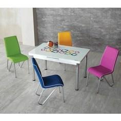 Комплект кухонный AlwaysSTAR Стол M29, 4 стула S29
