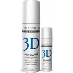 Medical Collagene 3D Гель-маска для лица AQUA BALANCE с гиалуроновой кислотой, восстановление тургора и эластичности кожи 130 мл
