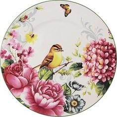 Тарелка обеденная Imari Цветы и птицы (IMA0180H-A2210AL)