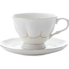 Чашка с блюдцем Maxwell & Williams Свежее дыхание белая (MW580-QV4520)