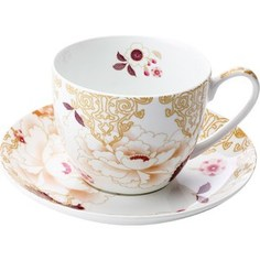 Чашка с блюдцем Maxwell & Williams Кимоно белый (MW637-PK0427)