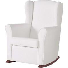 Кресло-качалка Micuna Wing/Nanny chocolate/white искусственная кожа (Э0000016231)