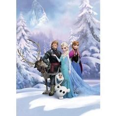Фотообои Disney Frozen Winter Land (1,84х2,54 м)