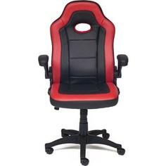 Кресло TetChair Denton кож/зам, черный/красный