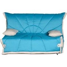 Диван-кровать СМК Габриэль 150 3а 292 бирюза/милк