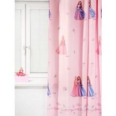 Штора портьерная детская TAC Барби. Принцесса и Нищенка 200x265 розовый (GS0443)