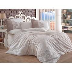 Комплект постельного белья Hobby home collection 1,5 сп, поплин Irene бежевый