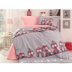 Детское постельное белье Hobby home collection 1,5 сп, поплин Linda серое