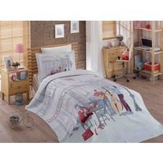 Детское постельное белье Hobby home collection 1,5 сп с покрывалом жаккард Marsele