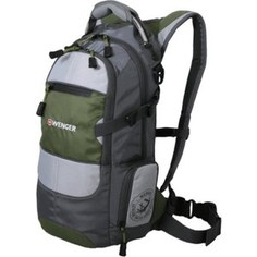 Рюкзак Wenger NARROW HIKING PACK серый/зеленый (13024415)