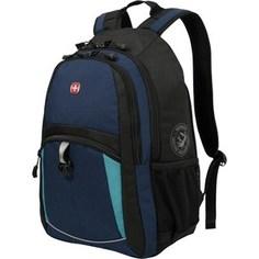 Рюкзак Wenger синий/черный/бирюзовый (3191203408)
