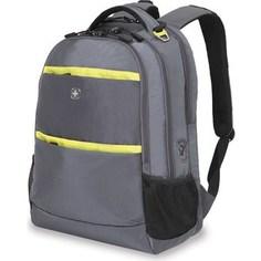Рюкзак Wenger серый/салатовый (6629446408) см, 28 л